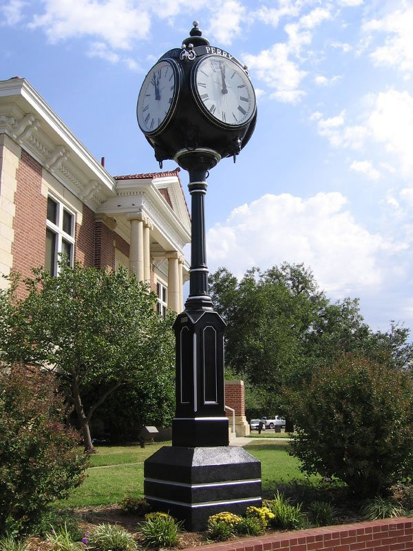 Large Four-Face Centennial Clock