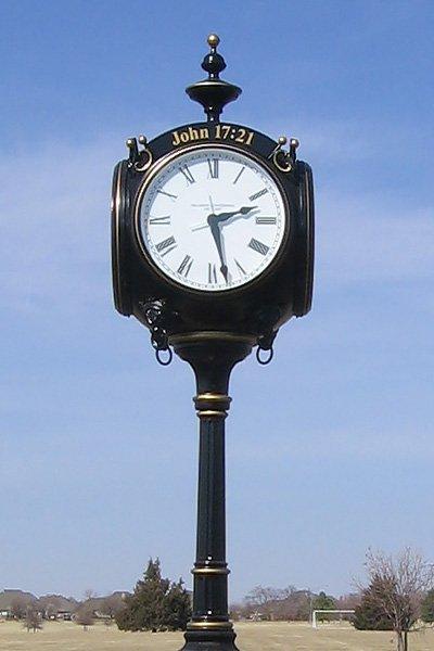 Image of updated Centennial Clock